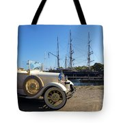 By Land And By Sea Tote Bag