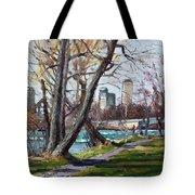 By Niagara River Tote Bag