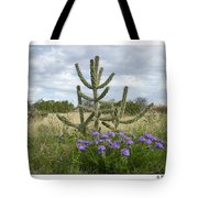 By The Cactus Tote Bag