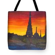 By The Ganga Tote Bag