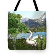 By The Lake 5 Tote Bag