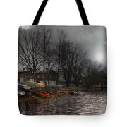 ...by The Pier... Tote Bag