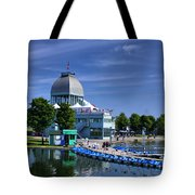 By The Port Montreal Tote Bag