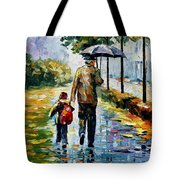 By The Rain Tote Bag