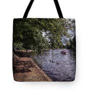 By The River Ouse Tote Bag
