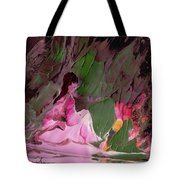 By The River Piedra I Sat Down And Wept Tote Bag