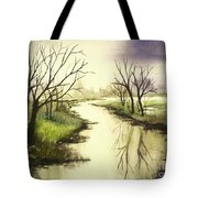 By The Riverside Tote Bag