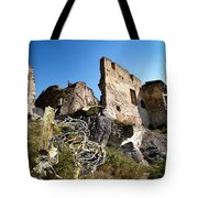 By The Ruins 21 Tote Bag