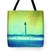 By The Sea - Cape May Lighthouse Tote Bag