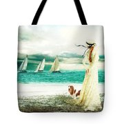 By The Sea Tote Bag by Shanina Conway