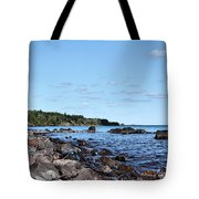 By The Shining Big Sea Water Tote Bag