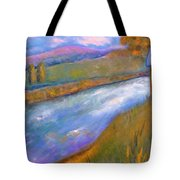 By The Stream Tote Bag