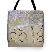 Bye Bye 2017 Welcome2018 Tote Bag