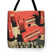 Bygone Britain 1983 Tote Bag