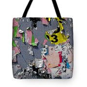 Bygone Days Of An Advertising Billboard Tote Bag