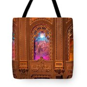 Byrd Theater Alcoves Tote Bag