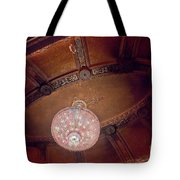 Byrd Theater Chandelier Tote Bag
