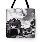 Bywater In Black And White Tote Bag
