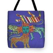 Byzantine Lion Tote Bag