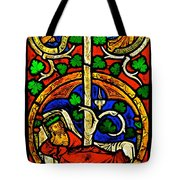 Byzantine Stained Glass Tote Bag