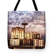 Bzar Seattl E Tote Bag