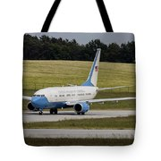 C-40 Clipper Taxiing At Dresden Tote Bag