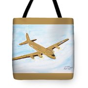 C-54 Warplane Tote Bag