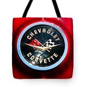 C2 Corvette Logo Tote Bag