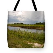 C54 Canal In Florida Tote Bag
