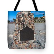 Ca-442 Death Valley 49ers Gateway Tote Bag