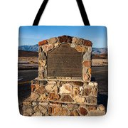 Ca-773 Old Harmony Borax Works Tote Bag