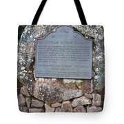 Ca-779 Rockville Stone Chapel Tote Bag