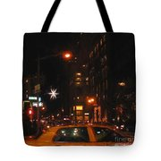 Cab New York Tote Bag