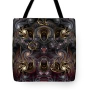 Cabalistic Symmetry Of Q Tote Bag