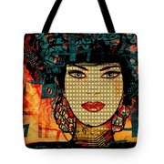 Cabaret Girl Tote Bag