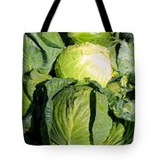 Cabbage Tote Bag