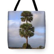 Cabbage Palms Tote Bag