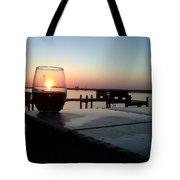 Cabernet Sunset Tote Bag