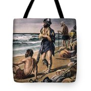 Cabeza De Vaca Expedition Tote Bag
