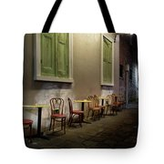 Cabildo Alley Tables Tote Bag