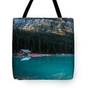 Cabin At The Lake, Tote Bag