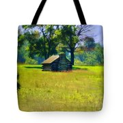 Cabin At Valley Forge Tote Bag