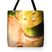 Cabin Candlelight Tote Bag