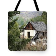 Cabin In Need Of Repair Tote Bag