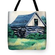 Cabin In The Clearing Tote Bag