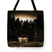 Cabin In The Woodlands  Tote Bag
