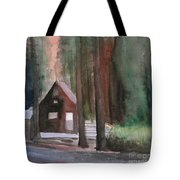Cabin In The Woods 08 Tote Bag