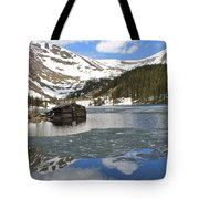 Cabin On Chinns Lake 2 Tote Bag
