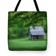 Cabin On The Blue Ridge Parkway - 1 Tote Bag