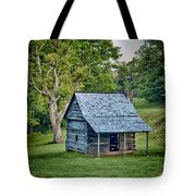 Cabin On The Blue Ridge Parkway - 10 Tote Bag